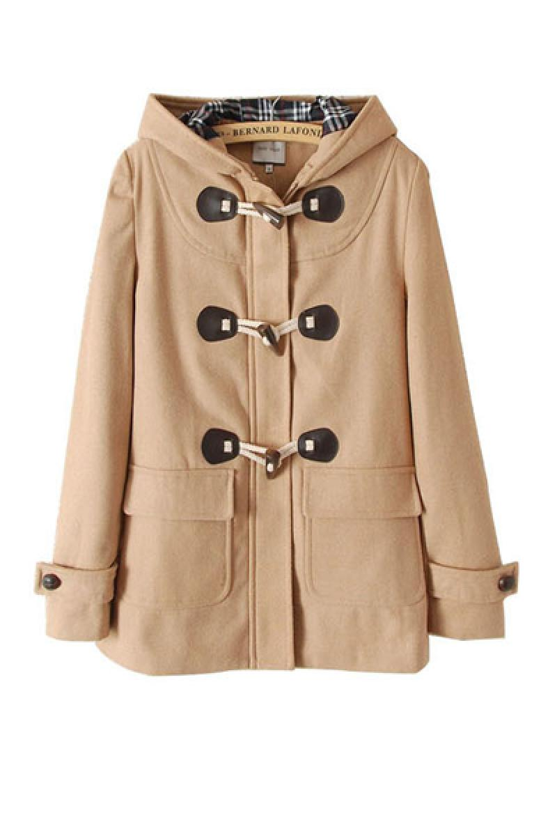 New Western Double Breasted Woolen Overcoat,Cheap in Wendybox.com