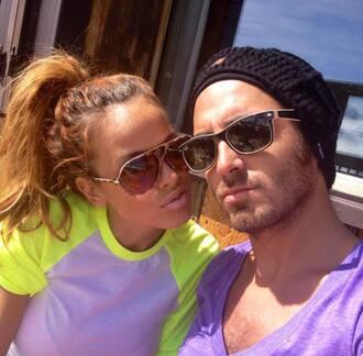 pastel t-shirt bicolor