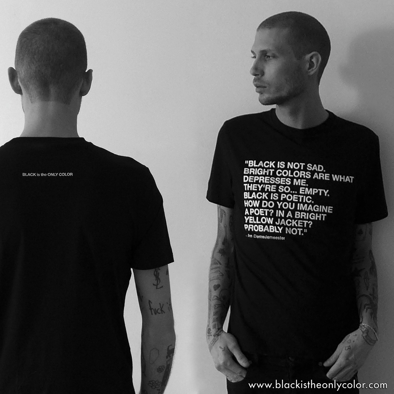 Black is the only color | THE FIRST BLACKistheONLYCOLOR T-SHIRT WILL BE FOR...