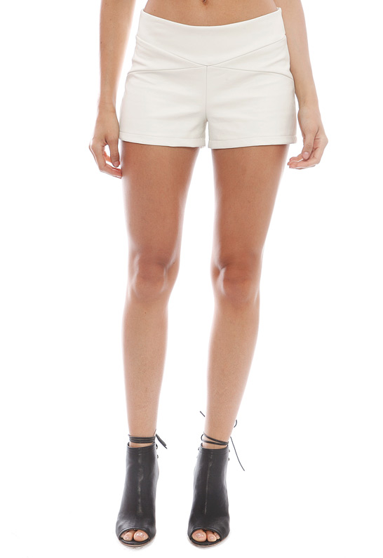 T Bags Leather Shorts | SINGER22.com