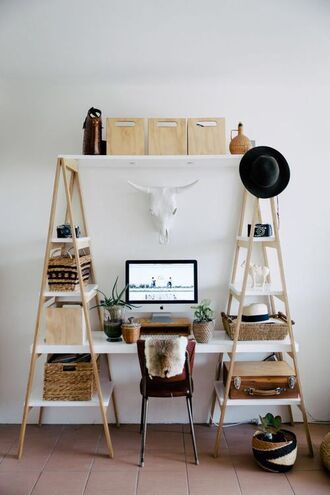home accessory home furniture furniture desk makeup table beauty organizer goatskin throw home decor urban outfitters tumblr home office chair table plants apple hat