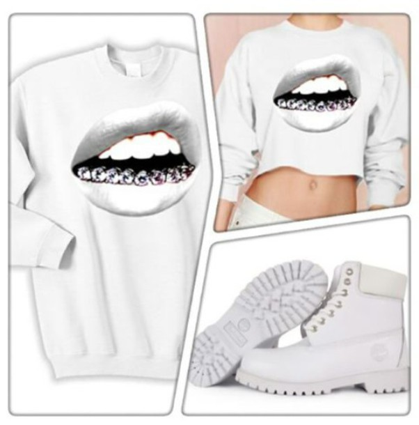 shoes timberlands all white timberland boots sweater