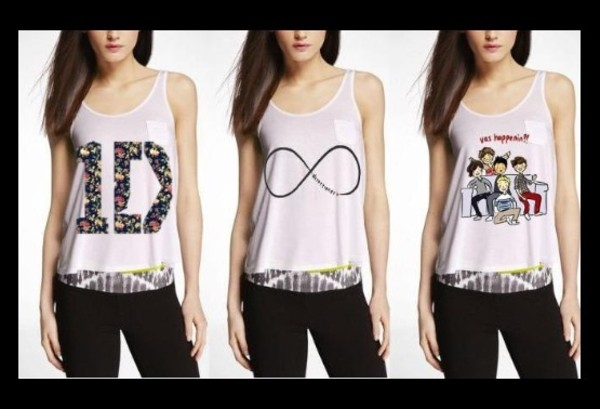 tank top one direction tank top summer