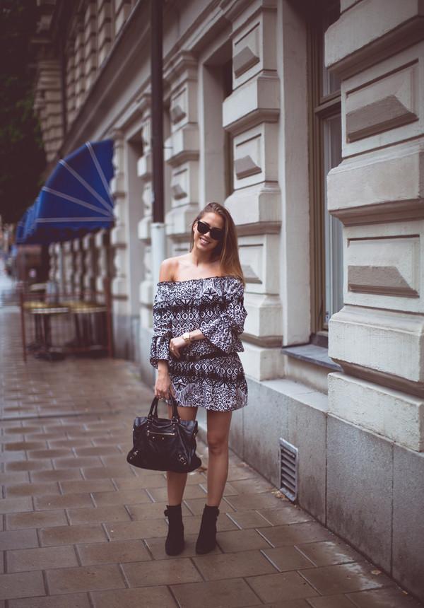 kenza shoes bag sunglasses