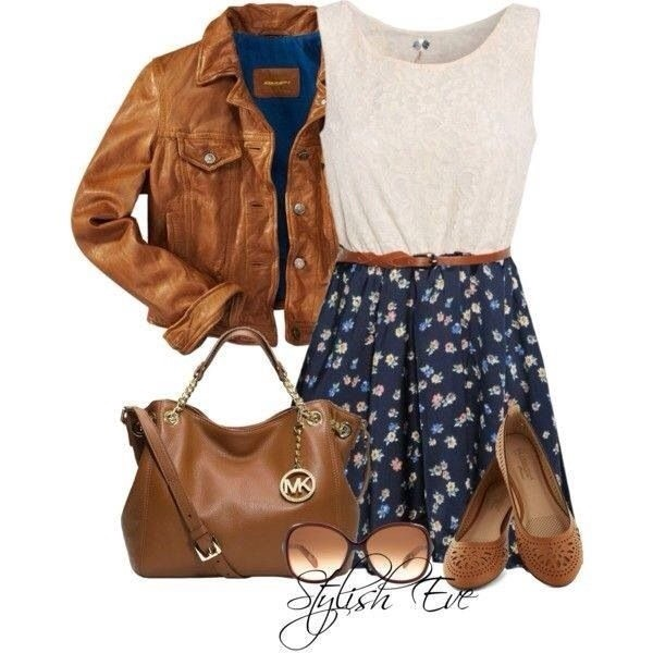 dress jacket bag shoes skirt tank top sunglasses