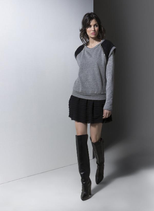 sweater lookbook fashion gat rimon skirt
