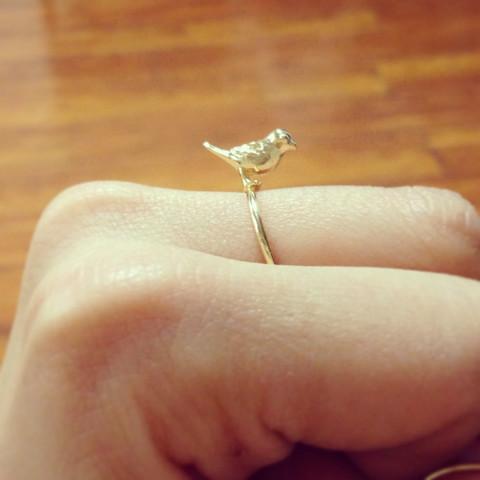 louun — Beautiful Bird Ring