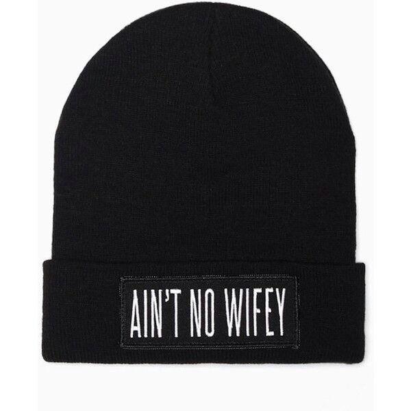 hat lovely swag black