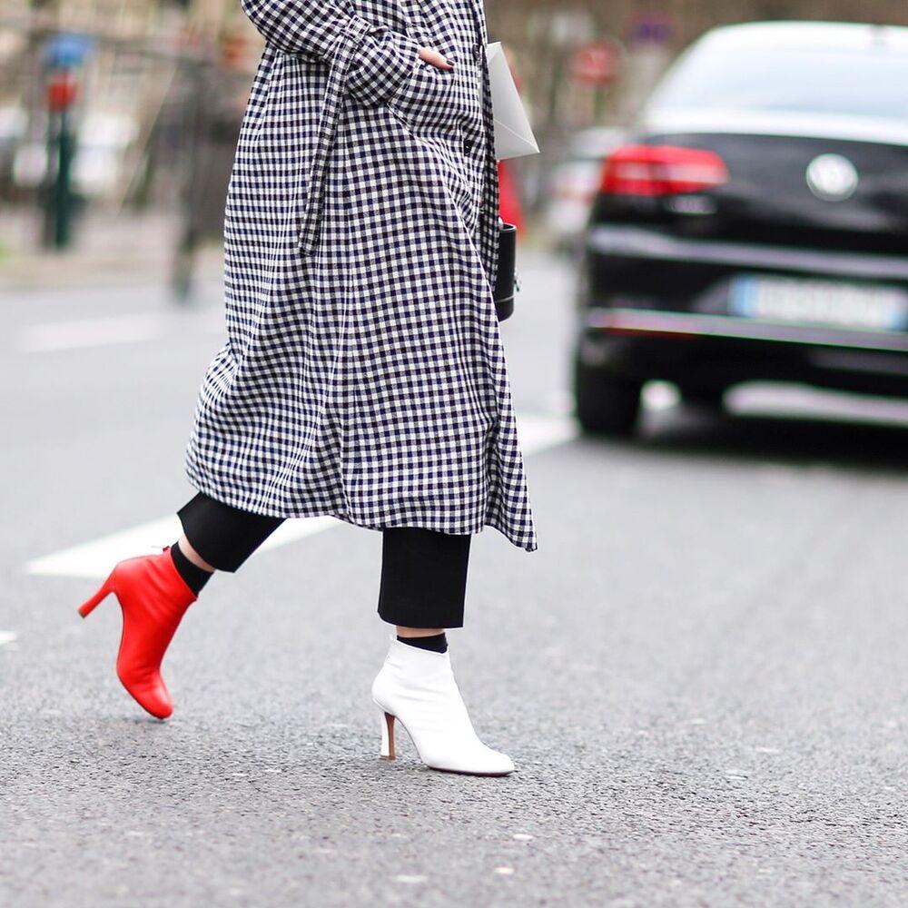 Celine Two-Color Shoe Trend 2017