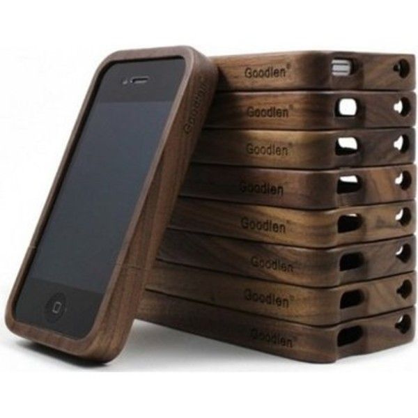 jewels iphone 4/4s/5 wood phone cover