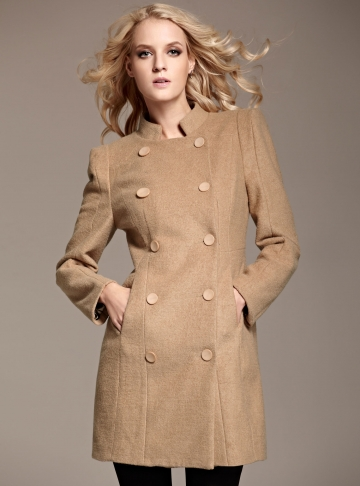 Street Style Bouble Breasted Coat [FEBK0560]- US$ 60.99 - PersunMall.com