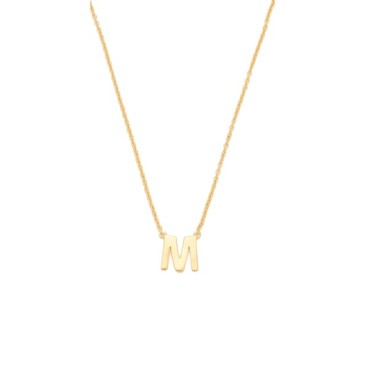 Gorjana Alphabet Necklace from shopbop.com | FASHIOLISTA | love your style!