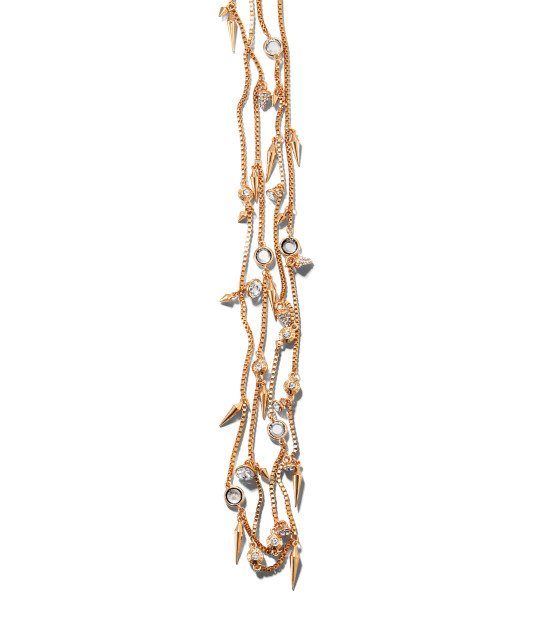 STILETTO SPIKE LONG NECKLACE | Jewelry | Henri Bendel