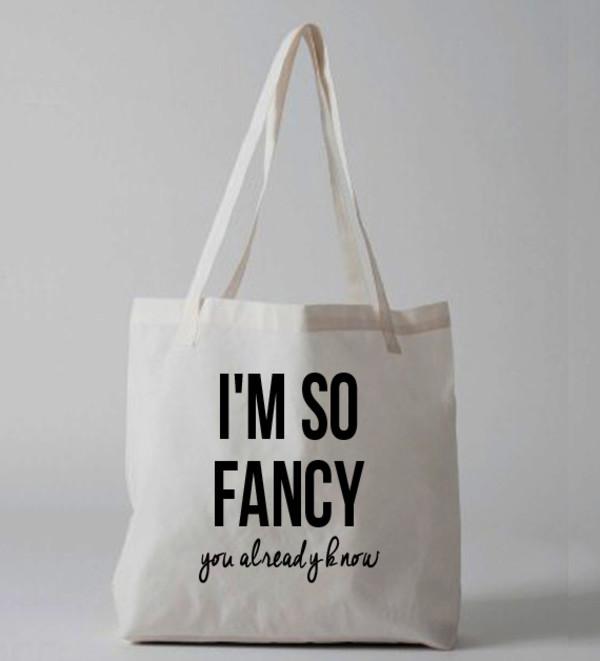 bag iggy azalea im so fancy who dat statement bag tote bag tote bag tote bag tote bag purse canvas tote