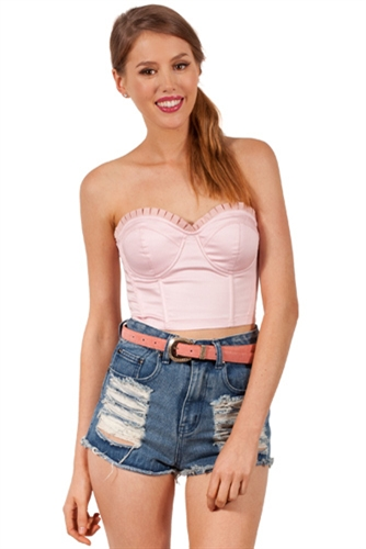 Shop Fashion Avenue - Live While We're Young Shorts