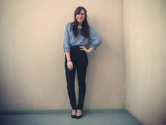 slanelle blouse