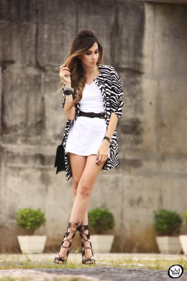 fashion coolture dress coat bag jewels