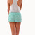 Mint Floral Crochet Lace Shorts | Affordable Junior Clothing & Plus Sized Dresses | Shimmer