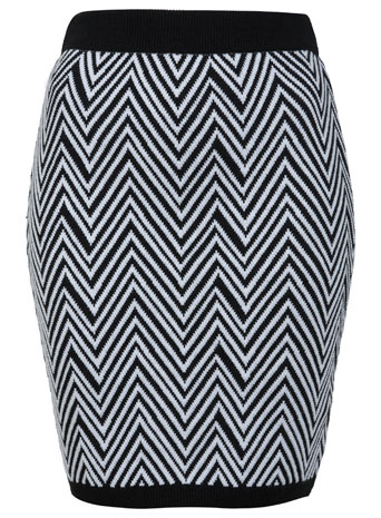 Petites Knitted Pencil Skirt - Miss Selfridge