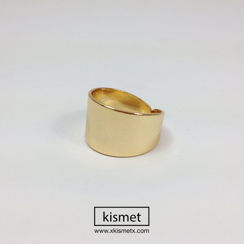 Thick band Gold Ring · kismet · Online Store Powered by Storenvy