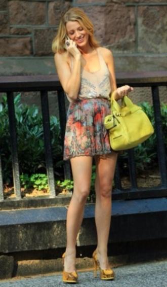 skirt serena van der woodsen gossip girl blake lively