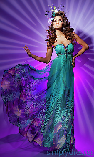 cheap Full Length Sweetheart Gown by Paris_Popular Dresses_Cheap 2013 Popular Dresses, Formal Dresses, Prom Dresses, Evening Wear at 4Evening Dresses sale