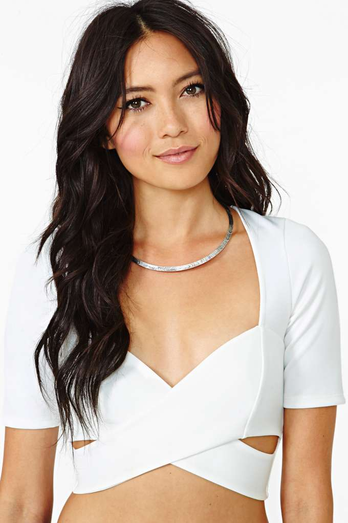 Phantom Crop Top in  Clothes Tops Cropped at Nasty Gal