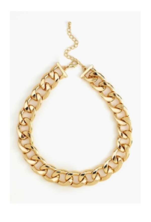 jewels chain necklace fashion gold statement necklace