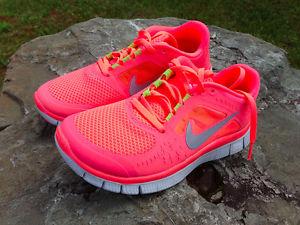 Nike Free Run 3 0 V5 0 Hot Punch   eBay