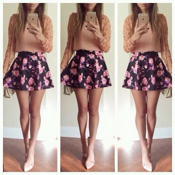 blouse shirt skirt