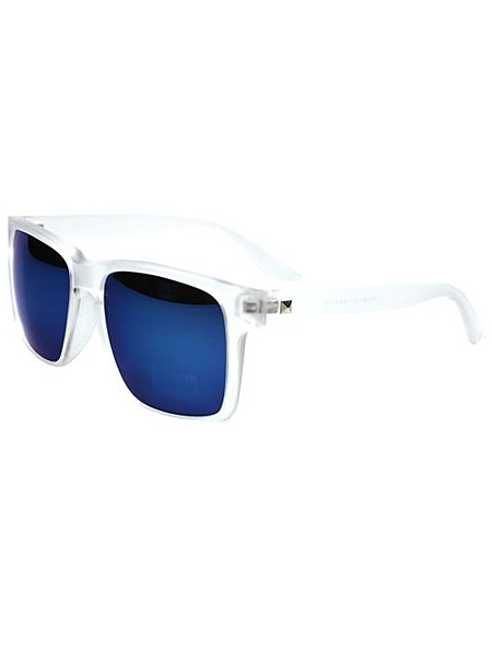 Square Blue Lens Sunglasses   Choies