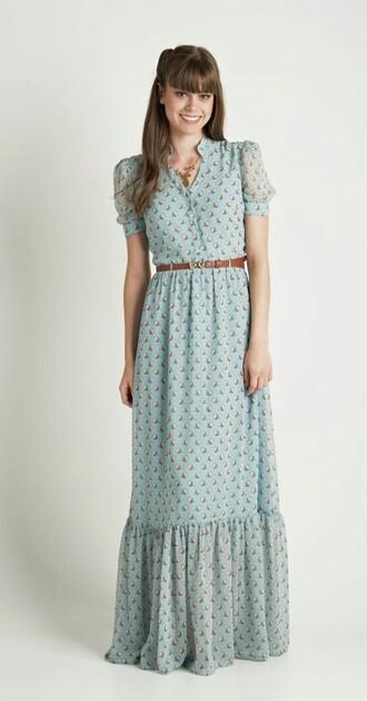 dress maxi dress boho dress cute dress chic chiffon dress chiffon shopping g shopping lovely moddeal