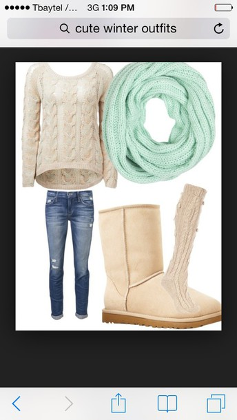 sweater cable knit