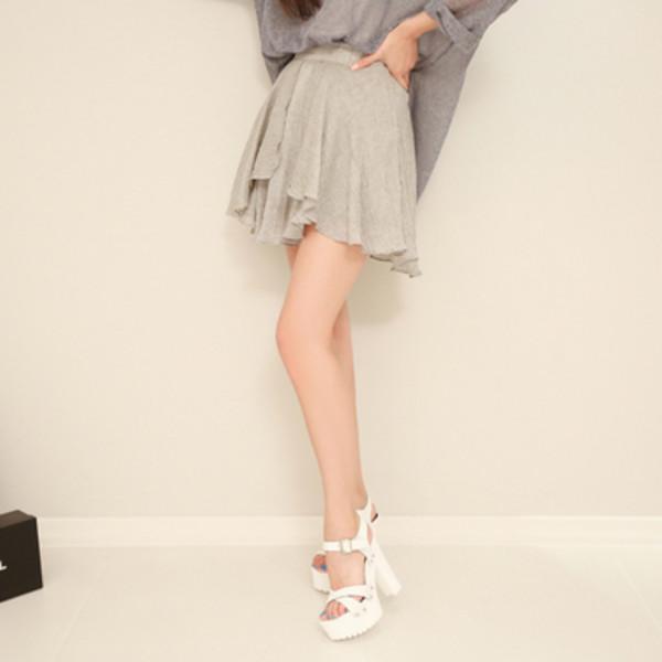 skirt flare skirt