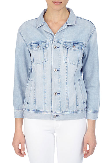 The Nancy Jacket - Blue Jay | AG Jeans Official Store
