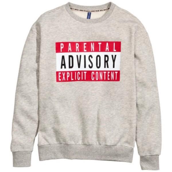 sweater parental advisory explicit content jeans shirt
