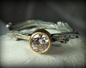 twig ring on Etsy, a global handmade and vintage marketplace.
