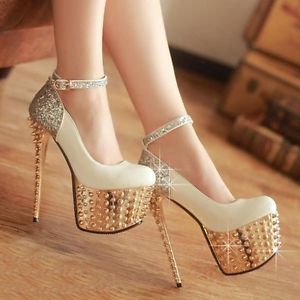 Women's Sexy Shallow Platform Pumps High Heels Ladies Party Pole Dancing Shoes | eBay