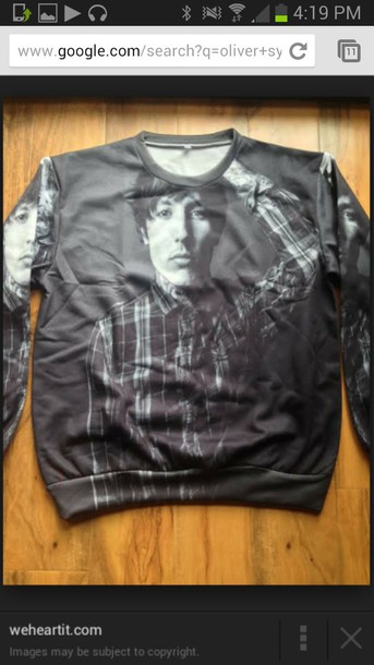 sweater oliver sykes home accessory