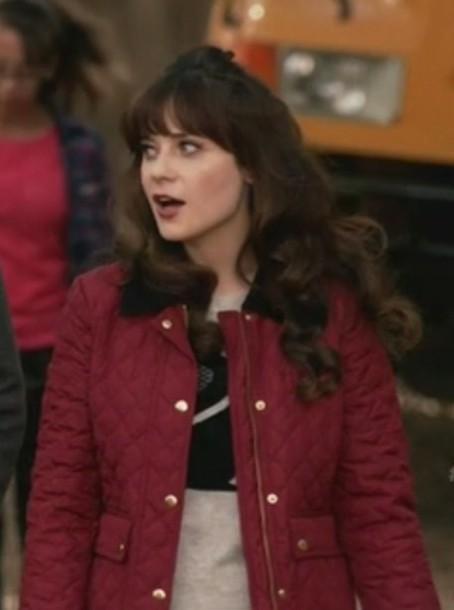 jacket new girl zooey deschanel jess day