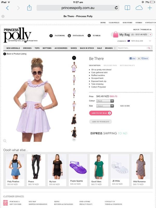 dress white and lilac dress ruffle neckline white dress