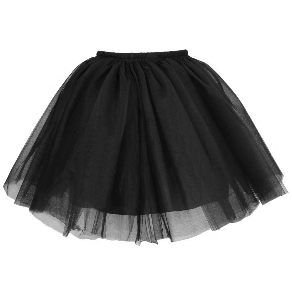 Tulle Mini Skirt - Black | Style Icon`s Closet
