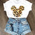 Mouse Tee - Leopard | BATOKO on Wanelo