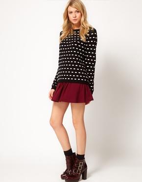 ASOS | ASOS Skirt In Skater Style at ASOS