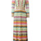 Missoni zig zag dress, women's, size: 42, viscose/cupro/polyester/silk