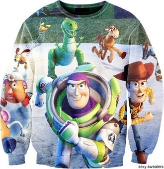 sweater toy story disney disney sweater toy story 3