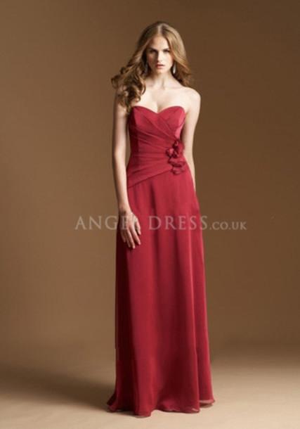 dress bridesmaid clothes angeldress
