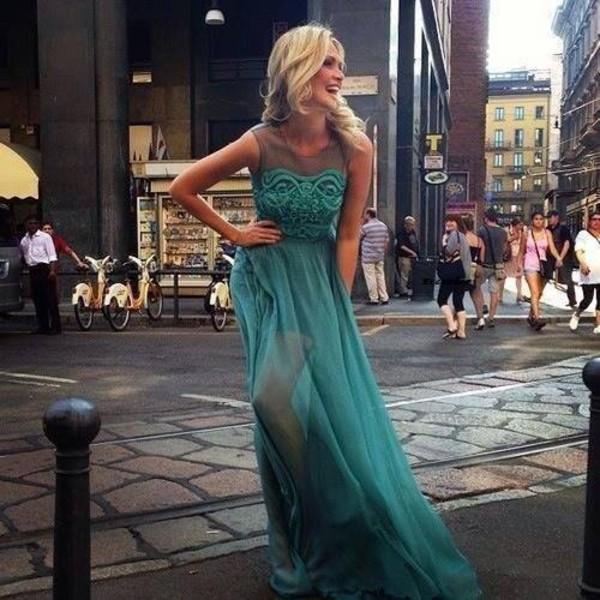 dress green dress smaragd prom dress long prom dress green maxi long long prom dress