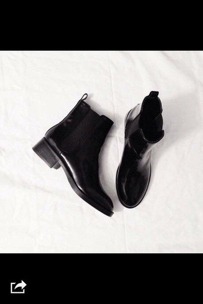 shoes boots black boots