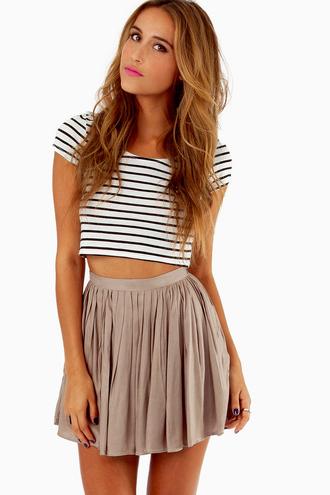 shirt pretty stripes striped shirt white black horizontal stripes